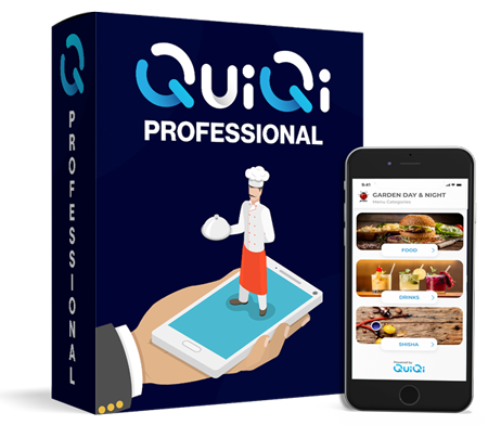 QuiQi professional, the best cloud based ordering solution for restaurants, bars, cafes